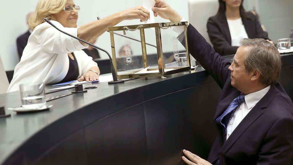 Carmona admite no conocer a los concejales del Ayuntamiento de Madrid