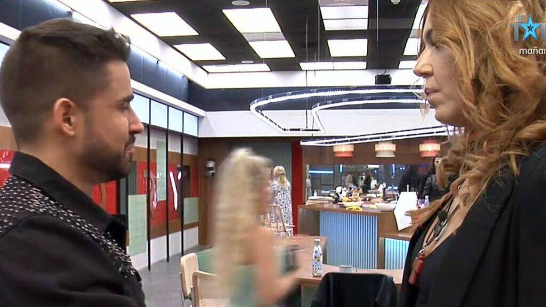 Frigenti intenta reconducir su relación con Sofía. (Mediaset)