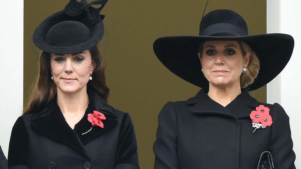 Kate Middleton y Máxima de Holanda rinden tributo a los caídos en la segunda guerra mundial
