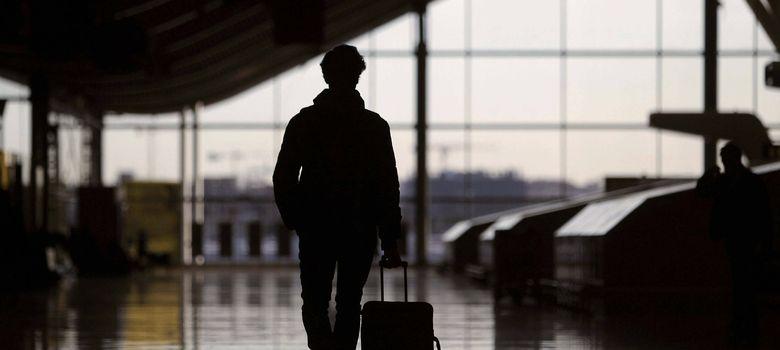 Foto: Viajeros en el aeropuerto de Barajas