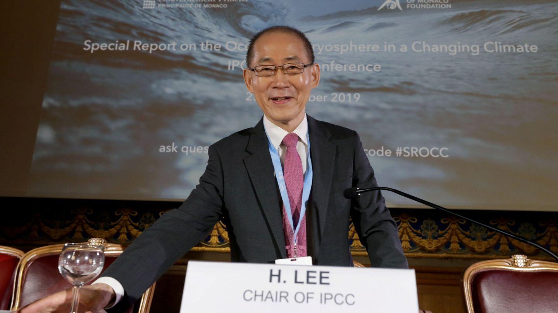 El presidente del IPCC, Hoesung Lee. (EFE)