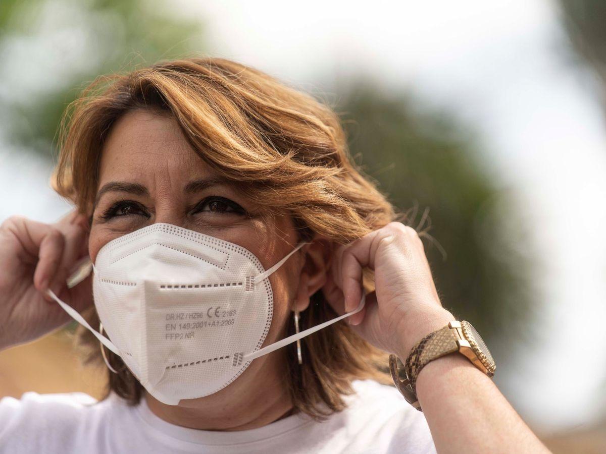 Foto: La secretaria general del PSOE andaluz, Susana Diaz. (EFE)