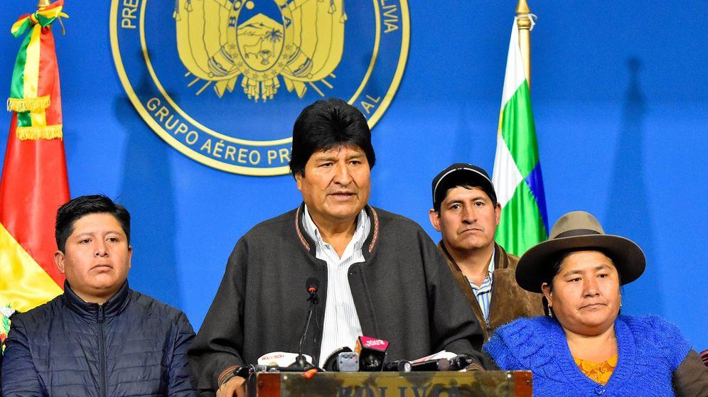 Foto: Evo Morales dimite. (EFE)