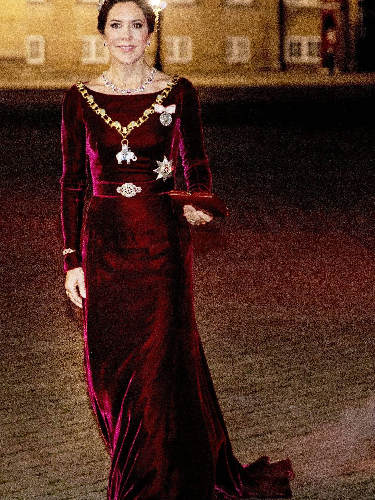 El look de Mary de Dinamarca. (CP)