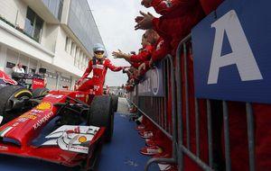 Fernando Alonso, la ficha del dominó que empuja al resto de la F1