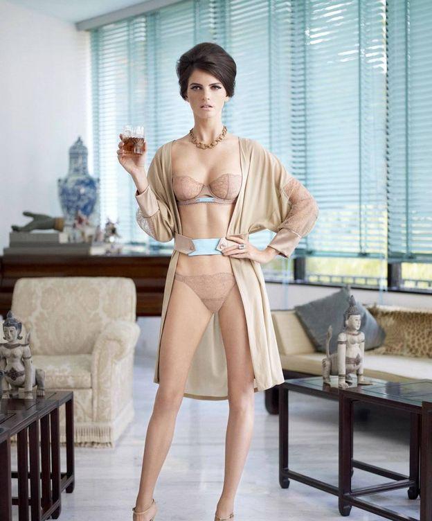 Foto: Sexy y elegante. La bata sale de casa y da el salto a la calle... y viceversa (La Perla)