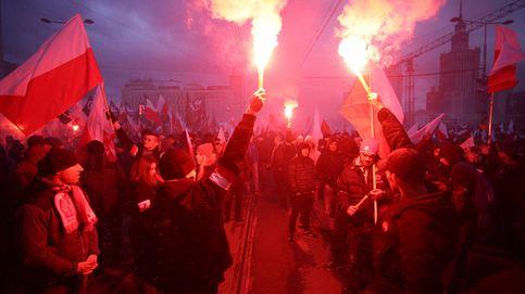 Protestas en Polonia y otoño en la India: el día en imágenes