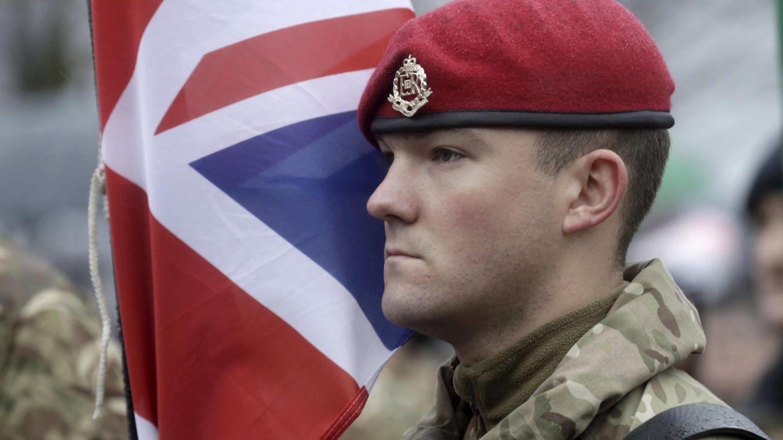 Soldado británico. (Reuters)