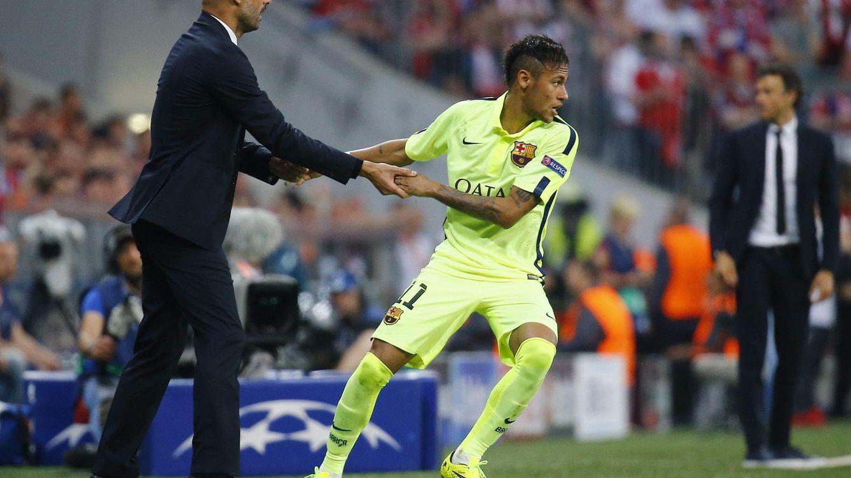 Foto: Guardiola y Neymar se volverán a encontrar en la gala del Balón de Oro (Reuters).