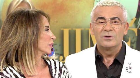 El polémico gesto de María Patiño en directo tras el zasca de Jorge Javier