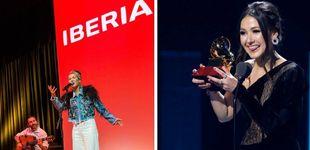Post de Iberia 'gana' en los Premios Grammy latinos gracias a 'Volando' y la venezolana Nella