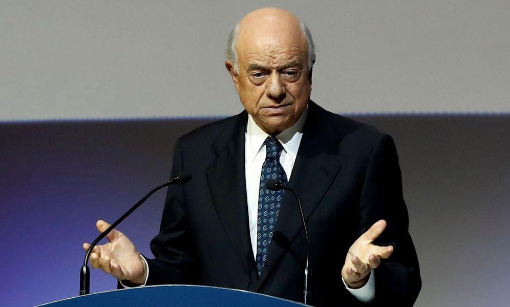 Foto: El expresidente de honor del BBVA, Francisco González. (EFE)