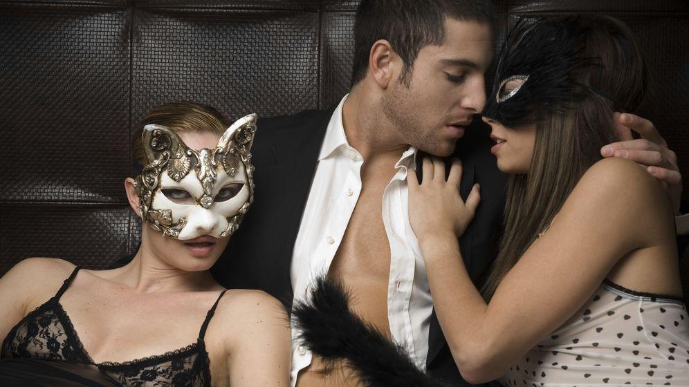 Foto: El sexo en grupo había gozado de muy mala reputación, al menos hasta que se ha vuelto a poner de moda. (Corbis)