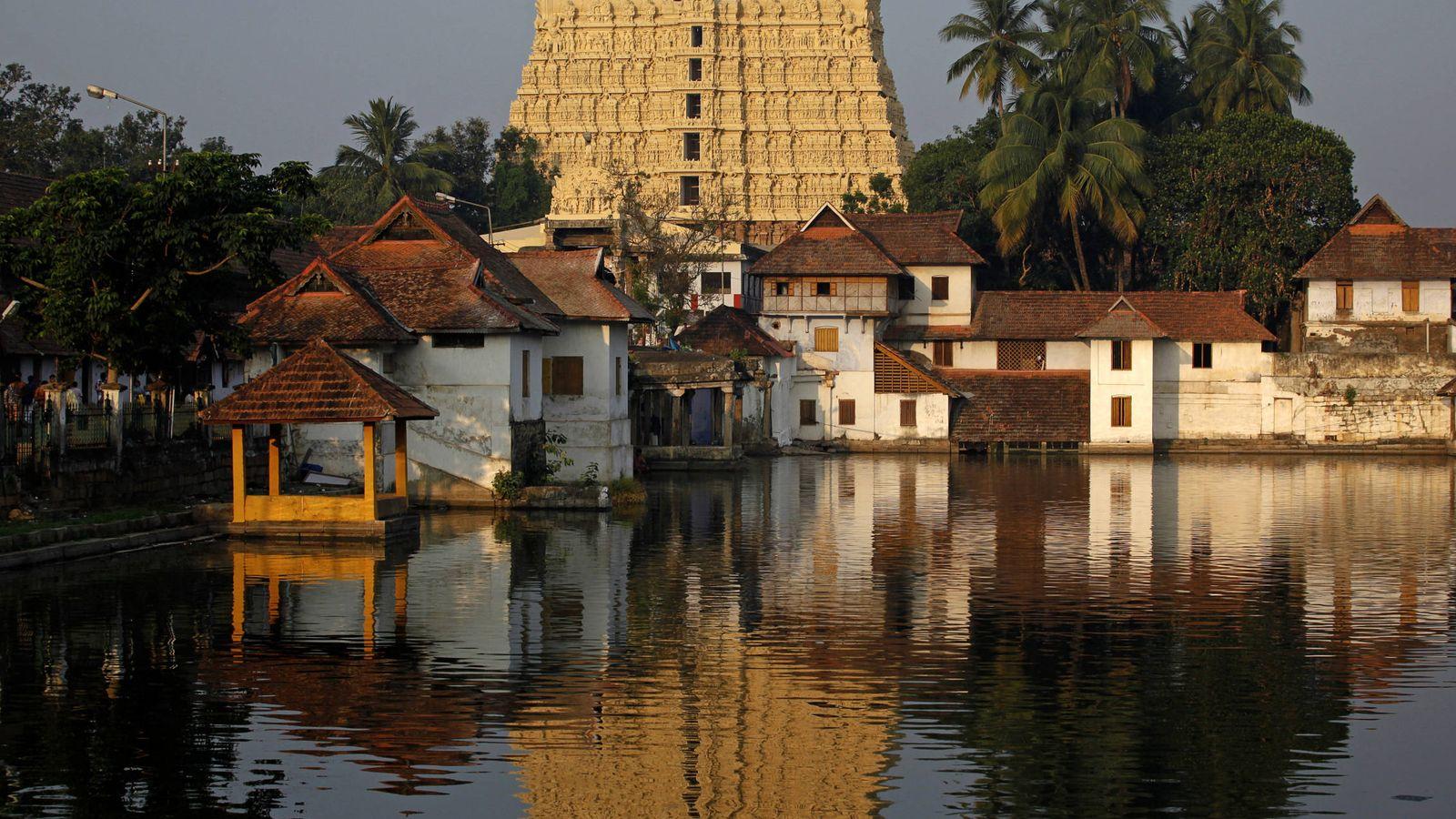 Foto: El templo en la región de Kerala. (Reuters)