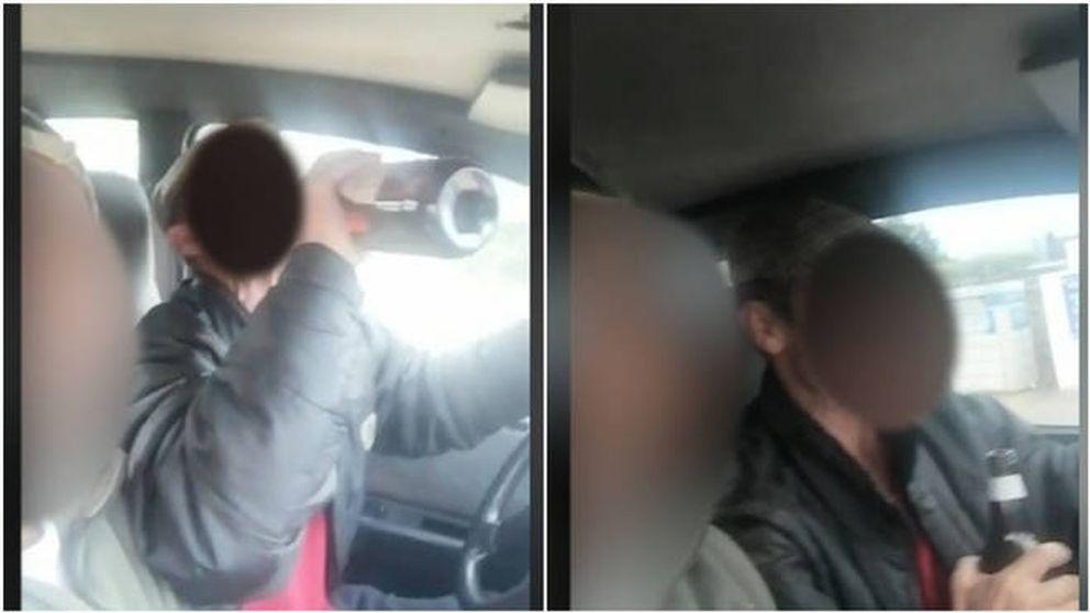 Bebiendo en el coche e insultando a la Guardia Civil en pleno estado de alarma