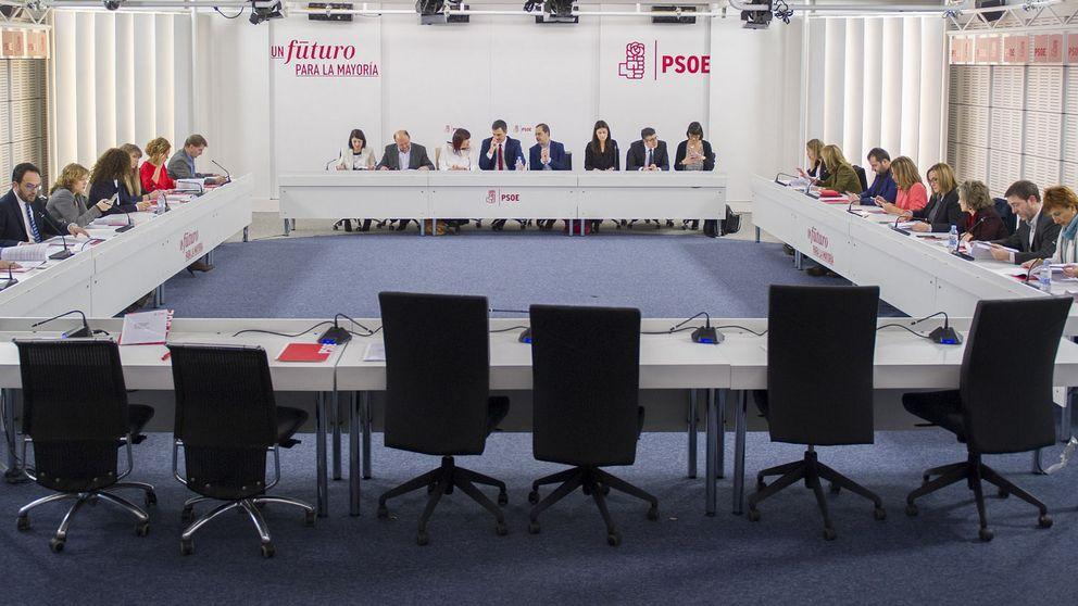El censo de militantes del PSOE cae un 4,5% desde 2014 y sólo un 7,2% pide votar online