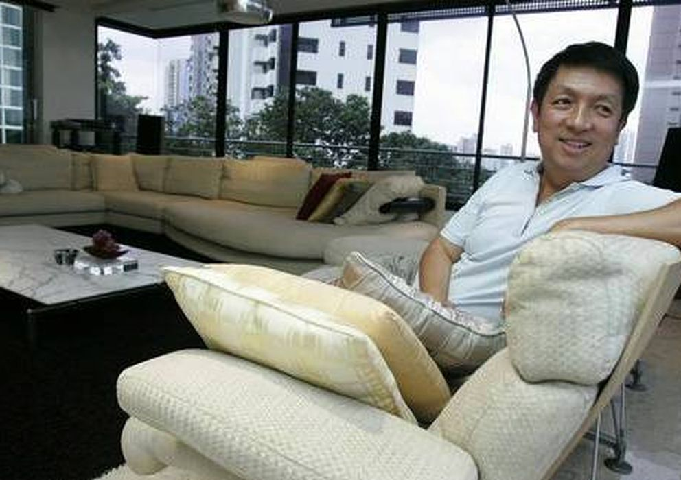 Foto: En la imagen, el magnate de Singapur Peter Lim