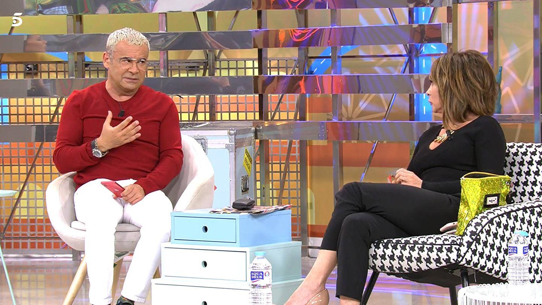 Jorge Javier y María Patiño. (Mediaset)