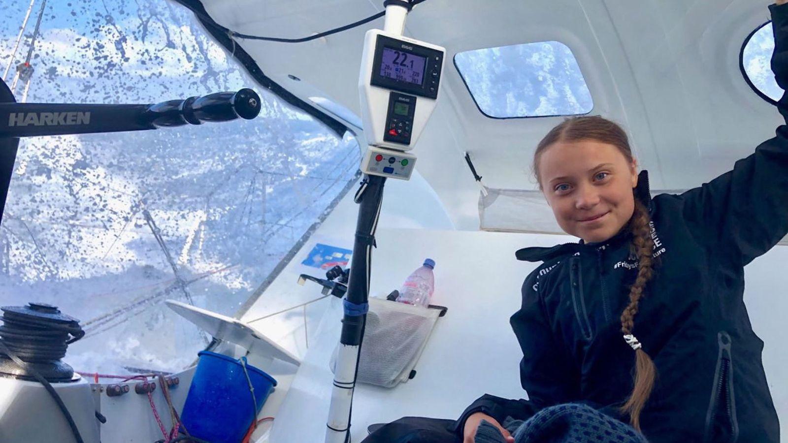 Foto: La activista contra el cambio climático, Greta Thunberg. (EFE)
