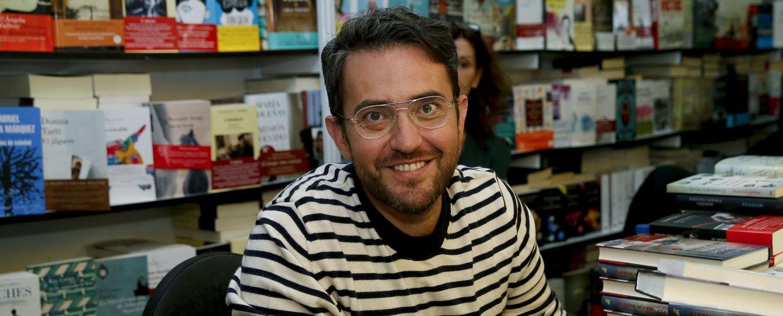 Foto: Màxim Huerta el pasado junio de 014 durante una firma de libros en la Feria del Libro de Madrid (Efe)