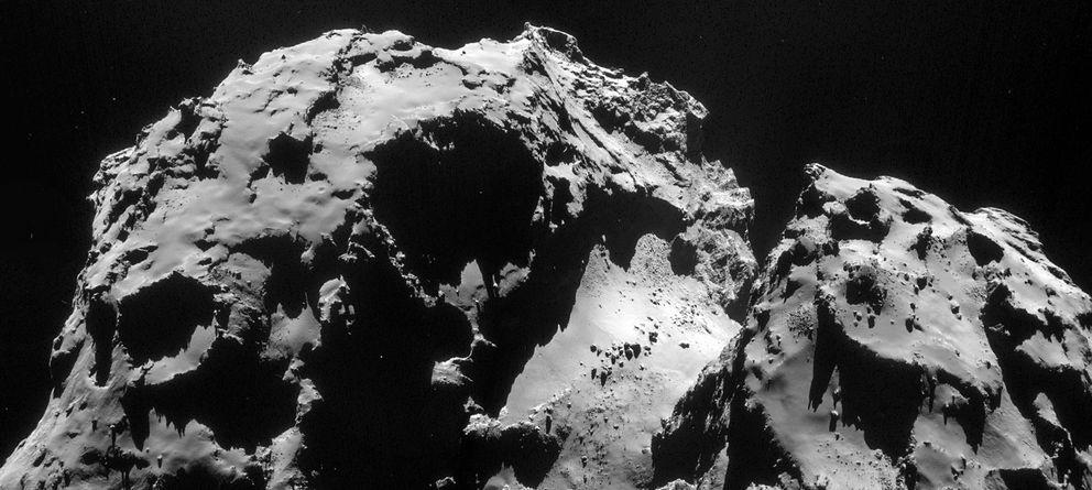 Foto: Fotografía del cometa 67P tomada por la sonda Rosetta (ESA)