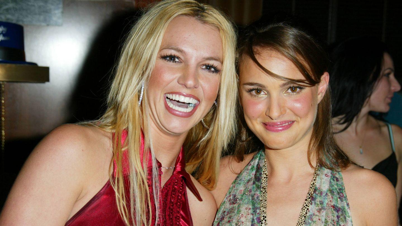 Junto a Britney Spears en 2002. (Getty)