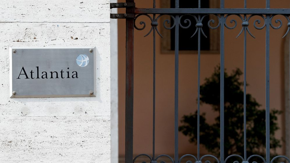 Foto: Oficinas de Atlantia en Roma (Reuters)