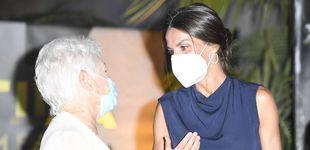 Post de Letizia y Judi Dench, el tándem estelar: la primera aparición de la reina en Mallorca