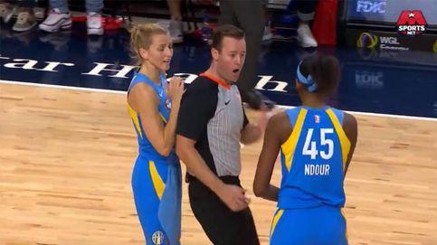 La expulsión de la española Ndour en la NBA femenina por su 'agresión'