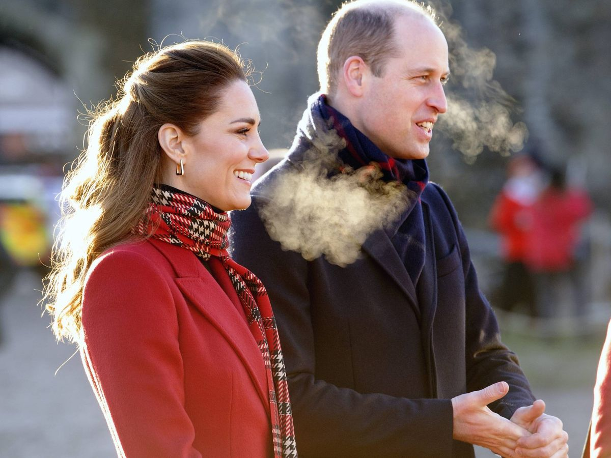 Foto: Los duques, durante el evento Christmas at the Castle en el castillo de Cardiff.(CP)