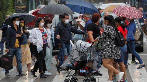 Toda España, salvo Cantabria, Murcia y las islas, en alerta por lluvias y tormentas