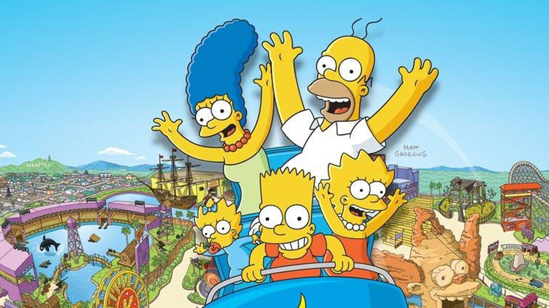 La popular familia Simpson.
