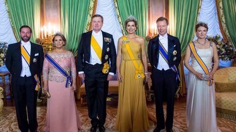 Máxima de Holanda deslumbra con su tiara en la cena con los duques de Luxemburgo