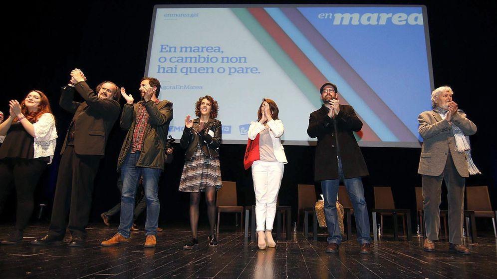 Foto: Cierre de campaña de En Marea en Vigo. (EFE)