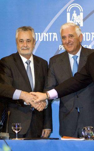 Griñán quiere al presidente de los empresarios andaluces como 'número uno' de la CEOE
