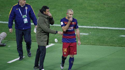 El Barça, obligado a resolver cuanto antes la continuidad de Mascherano