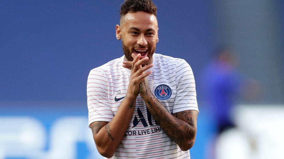 Foto: Neymar, en una imagen de la pasada Champions. (Reuters)