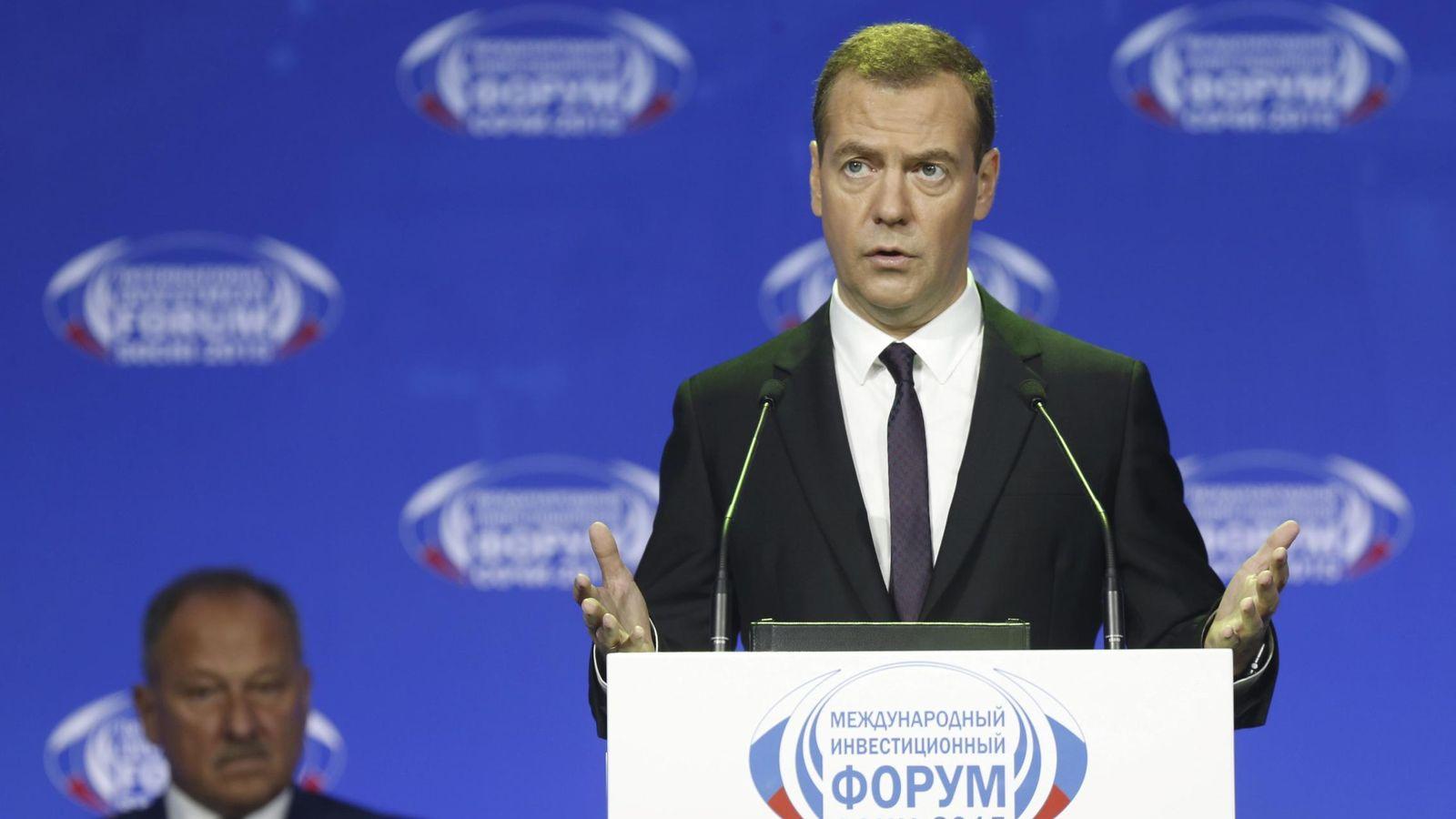 Foto: El primer ministro de Rusia, Dmitry Medvedev. (Reuters)