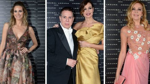 Hannibal Laguna celebra su 30 aniversario con Paz Vega, Juncal Rivero y Ana Obregón