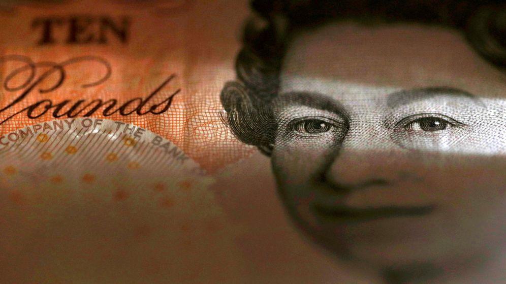 Foto: Billete de 10 libras. (Reuters)