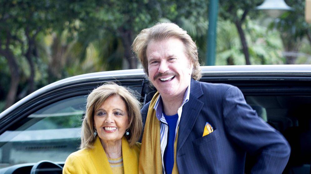 Foto: María Teresa y Edmundo, en una imagen de la semana pasada. (Getty)