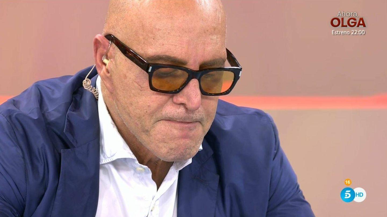 Kiko Matamoros en 'Sálvame'. (Mediaset España)