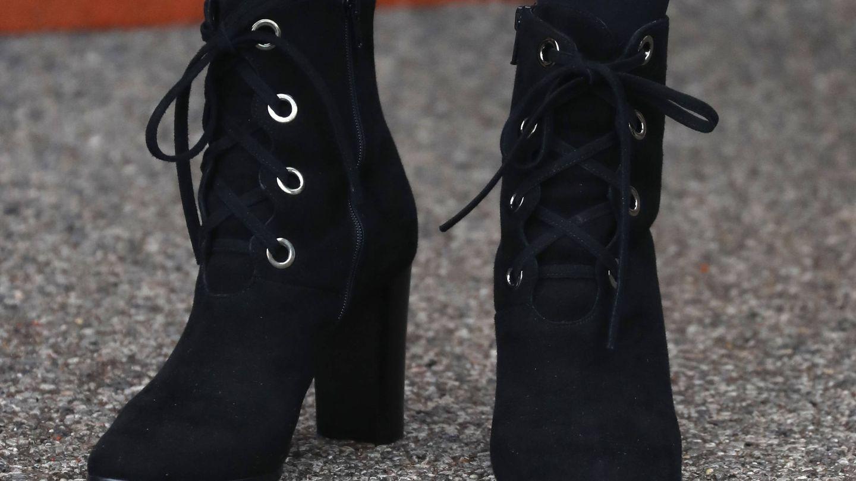 Las botas más 'rockstars' de la duquesa. (Getty)
