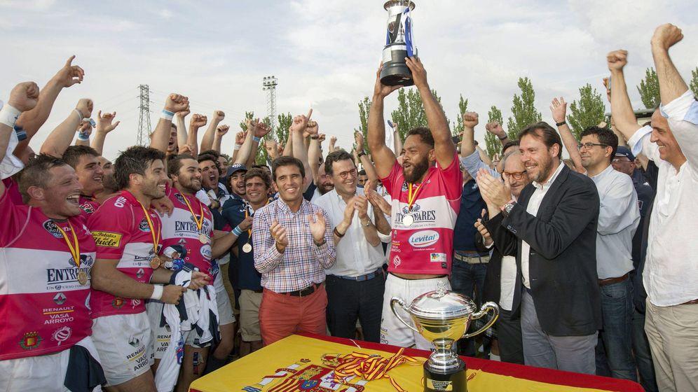 Foto: El VRAC recuperó el título de Liga tras quedarse en blanco en 2016. (EFE)