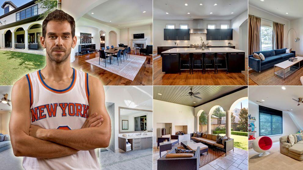 El NBA José Manuel Calderón vende su mansión de Texas