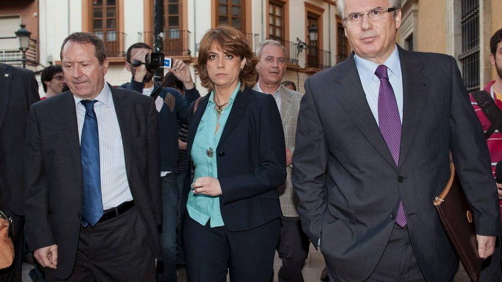El juez descubre en la agenda de Villarejo una comida con la ministra Delgado en 2017