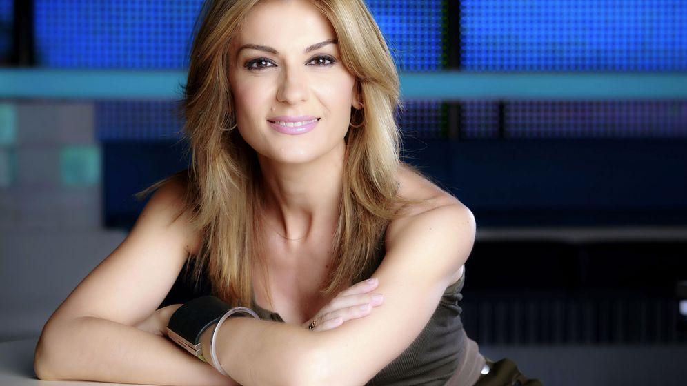 Foto: La presentadora Sandra Golpe. (Roberto Garver/Atresmedia)