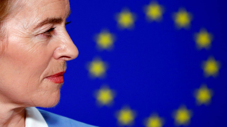 Foto: Ursula von der Leyen en el Parlamento Europeo. (Reuters)