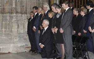 El acto de reconciliación de los hijos de la duquesa en Dueñas