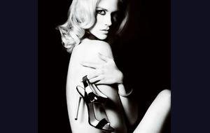 Foto: January Jones, nuevo rostro de Versace